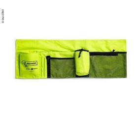 Side pocket for Disc-o-Bed Kids beds, colour lime-green