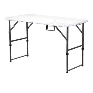 Fold Up Camping Table, EASY I, Camp4, 122x61cm, White