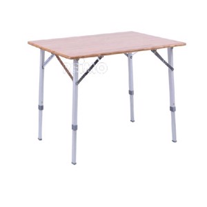 Bamboo Camping Table, CATANIA, 80x60 cm