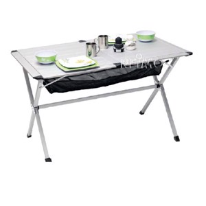Aluminium Camping Table, Titan Space Camp4, 115x72x70