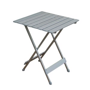 Small Camping Table, Camp4 Single, 50x50 cm, Aluminium