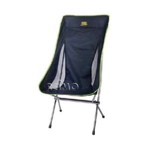 Folding Camping Chair, RIVERSIDE, black-lime
