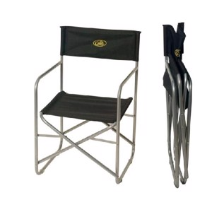 Camping Directors Chair, Little Joe Camp4, black