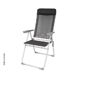 Aluminium Camping Chair, Tortuga Camp4, anthracite