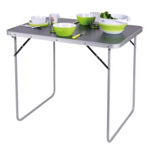 Small Camping Table, TWIGGY III, Camp4, 80x69x60 cm, dark table top