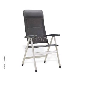 Westfield Camping Chair, Smart High, charcoal grey