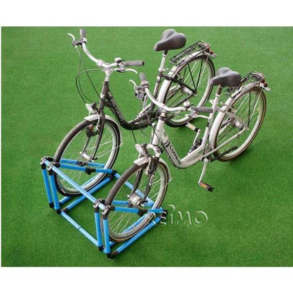 mobiler fahrradparker klappbar blau schwarz. Black Bedroom Furniture Sets. Home Design Ideas