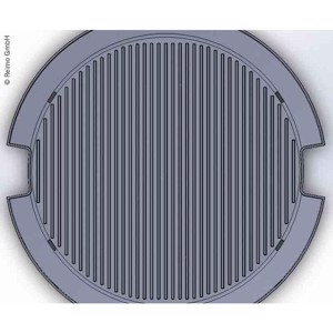 Alu grill plate for gasgril