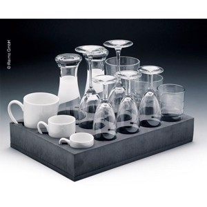 Universal glass+cup holder 812 glasses or cups)