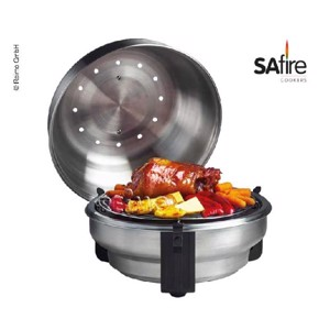SAfire grill made of stainless steel  ø345mm x H285mm