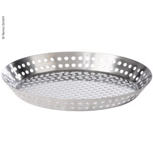 Vegetable grill pan, Ø25/30,5cm, stainless steel
