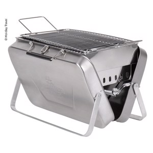 HOLIDAY TRAVEL - Stainless steel charcoal barbecue case