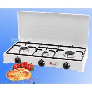Propane Camping Stove, Parker Camping Stove, 3 Flame, 30mbar