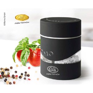 2 in 1 salt and pepper mill, black