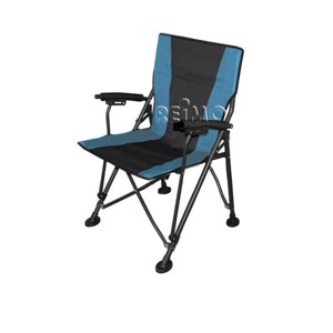 Camping Directors Chair, SALERNO Camp4, black/blue