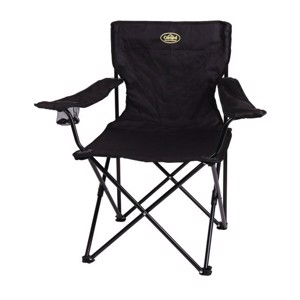 Folding Camping Chair, ALOHA 2 Camp4, black