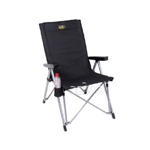 Folding Camping Chair, LA PALMA Camp4, black