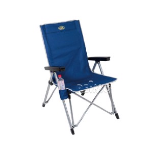Camp chair LA PALMA in blue