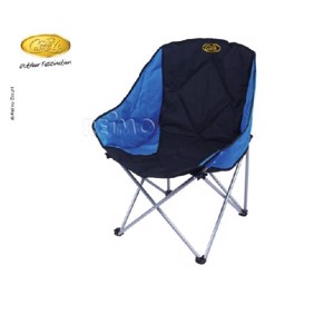 Camp4 Camping Chair, BARROSA, black/blue