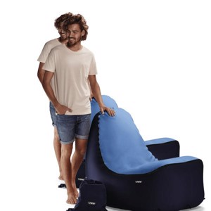 Inflatable Camping Chair, TRONO, Blue