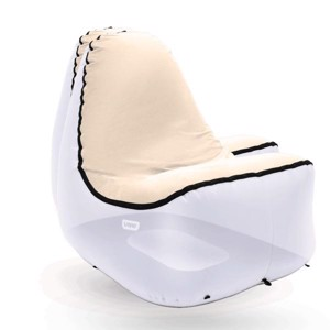 Inflatable Camping Chair Cover for TRONO, cream