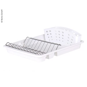 Dish dryer 42x32x12cm, white