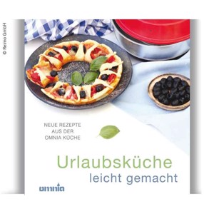 OMINA Cookbook - holiday kitchen made easy, 50 recipes, 108 pages