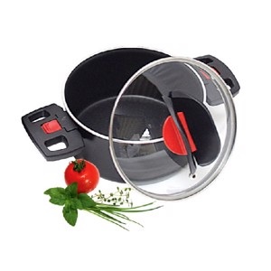 Saucepan Excluxive 16cm black without lid