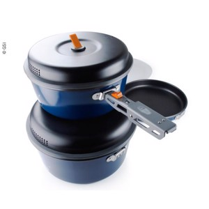 Cooking Pot Set Base Camper, 8 pcs.