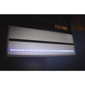 LED-light blue with switch for step