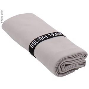 Microfibre Towel Cannon Beach, 200x80 cm, grey