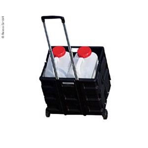 Transport trolley with folding box, load capacity 35kg