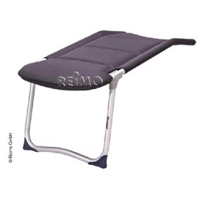 Footrest Camping Chair, Smart Westfield, charcoal grey