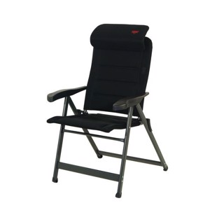 Aluminium Camping Chair, Crespo, 3D Air Deluxe, black