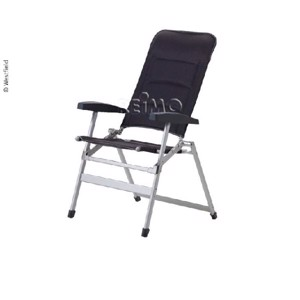 Westfield Camping Chair, Cross Compact, dark grey, padded