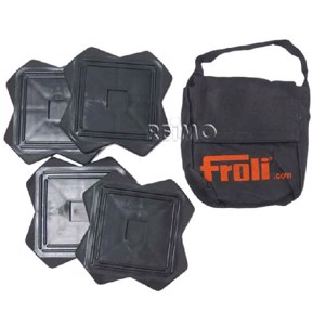 Froli support plate set, 4 pieces