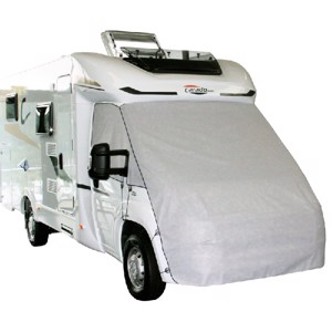 Front protection tarpaulin for panel van VW-T5/T6