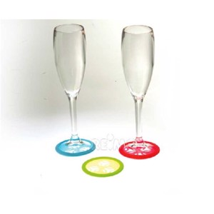 Anti-slip pl. for glasses 6 pcs.