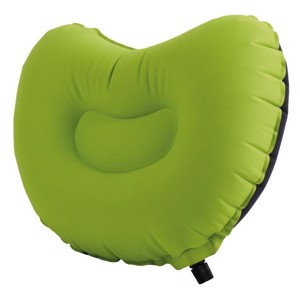 Self Inflating Camping Cushion, Camp4 NEW COMFORT, grey/lime