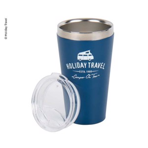 HOLIDAY TRAVEL - Stainless Steel Vacuum Cup with Lid