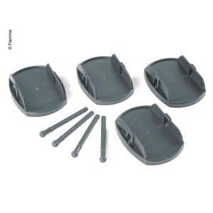 Plates Pro carrying plates 4pcs. Load capacity 650kg/St grey