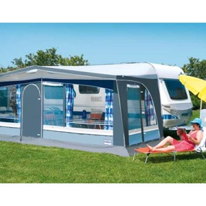 Caravan awning Sunset Super Size 7 circulation measure