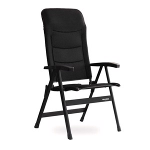 Westfield Camping Chair ROYAL COMPACT Anthracite, up to 150kg loadable
