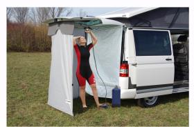Shower Curtain for Rear Tent/Rear Doors