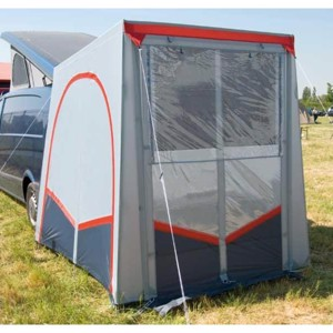 Tuffi - a rear tent for vans/motor homes