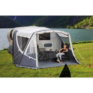 Inflatable awning for Adria Action 391