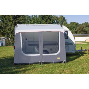 Annex tent VILLA JOURNEY, light grey/dark grey