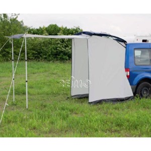 Rear tent VERTIC for Caddy-floor space w135xl135