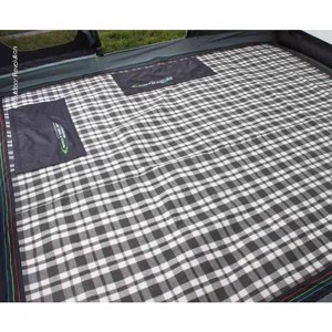 Tent carpet Snug Rug for MOVELITE rear tent, 300 x 250 cm