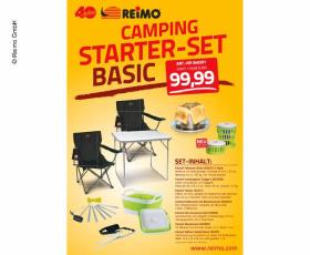 "Camping Starter Set ""Basic"" for 2 persons"